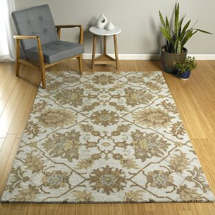 Elia Spa Hand-Tufted Beige/Brown Indoor/Outdoor Area Rug