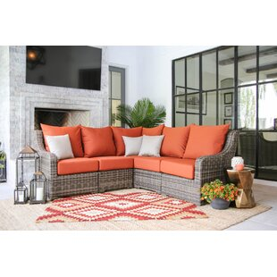 Valentin Patio Sectional with Cushions