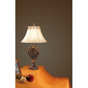 Camilla Antiqued Resin 32 Table Lamp (Set of 2)