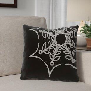 Spider Web Outdoor Throw Pillow