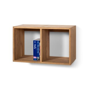 Woody Wall Shelf Cube Bookcase By Union Rustic