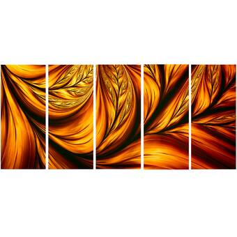 All My Walls Lava Flowing By Rosie Brown Painting Wayfair