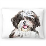 Shih Tzu Lumbar Pillow
