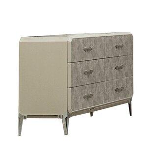 Liz 6 Drawer Double Dresser by Williston Forge