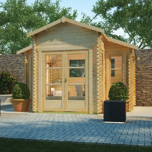 Carnivora 14 X 14 Ft. Tongue And Groove Log Cabin Image