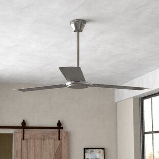 Clearance 56 Emil 3 Blade Industrial Ceiling Fan By Zipcode Design
