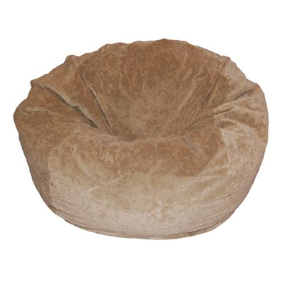 Ahh! Products Bean Bag Chair Upholstery: Tan