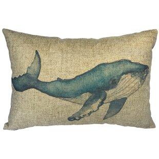 Whale Lumbar Pillow Wayfair