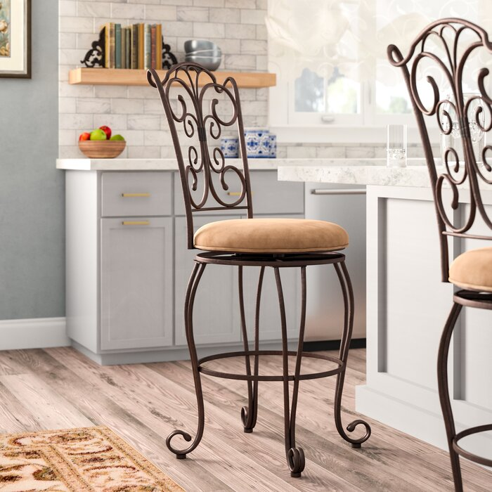 Pleasing Meredith 30 Swivel Bar Stool Machost Co Dining Chair Design Ideas Machostcouk