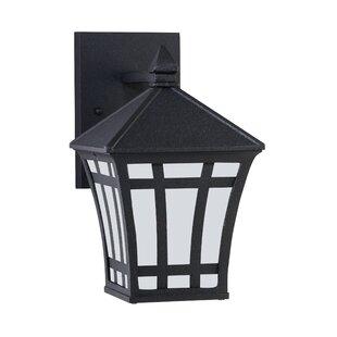 Bargain Brette 1-Light Outdoor Wall Lantern By Bloomsbury Market