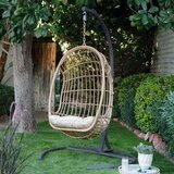 Maliana Bali Egg Swing Chair with Stand