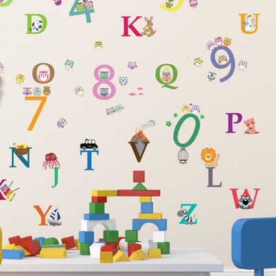 Alphabet And Number Wall Decal Part 39
