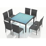 Hobbs 9 Piece Sunbrella Dining Set