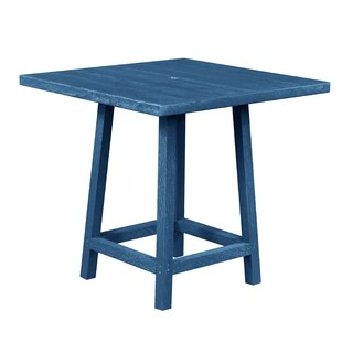 William Plastic/Resin Bar Table by Beachcrest Home