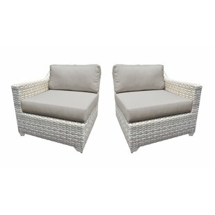 Fairmont 2 Piece Patio Chair Set with Cushions