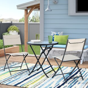 Flippen 3 Piece Bistro Set by Ebern Designs