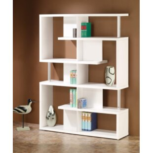 Halton Library Bookcase by Orren Ellis Reviews