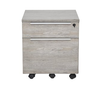 Ose 2-Drawer Mobile Lateral Filing Cabinet