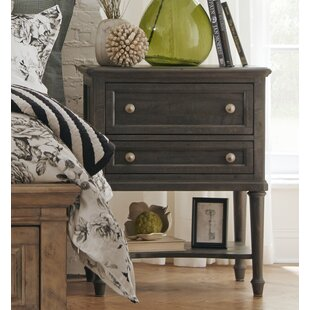 Alona 2 Drawer Nightstand by Gracie Oaks