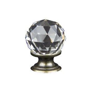 Chateau Crystal Knob by RCH Supply Company