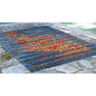 Michaella Suzanie Blue Indoor/Outdoor Area Rug