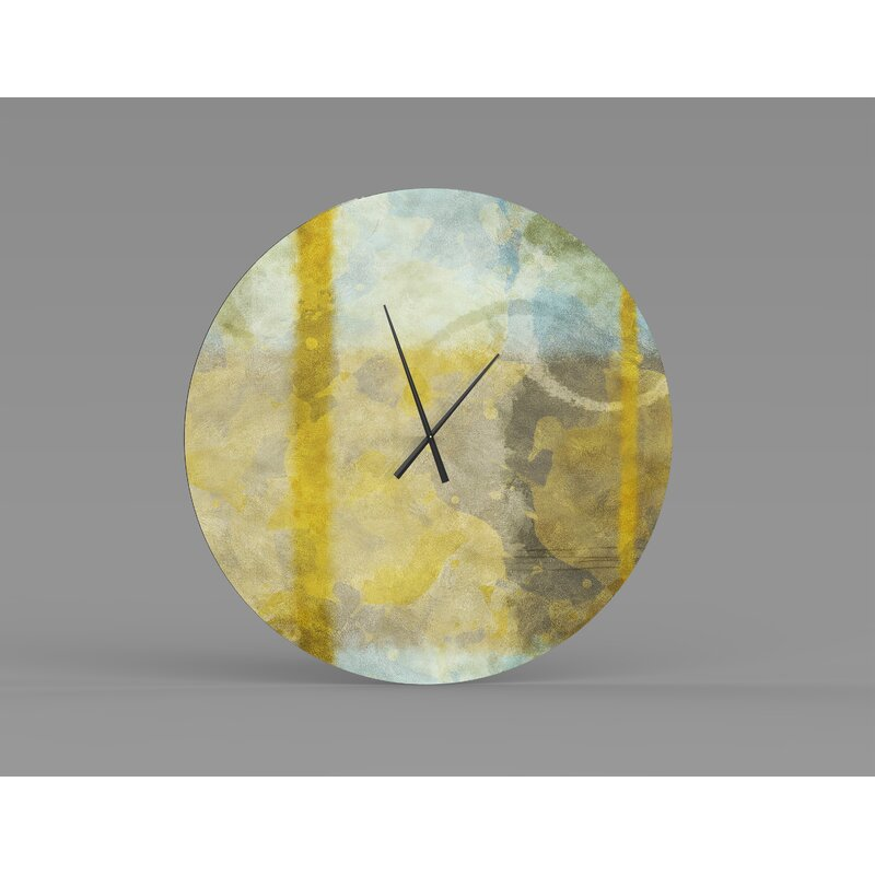 Orren Ellis Oversized Kassie Wall Clock Wayfair