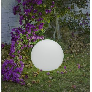 Tolzmann White Plug-In Floor Lamp By Sol 72 Outdoor