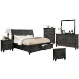 Schulman Sleigh 6 Piece Bedroom Set by Fleur De Lis Living