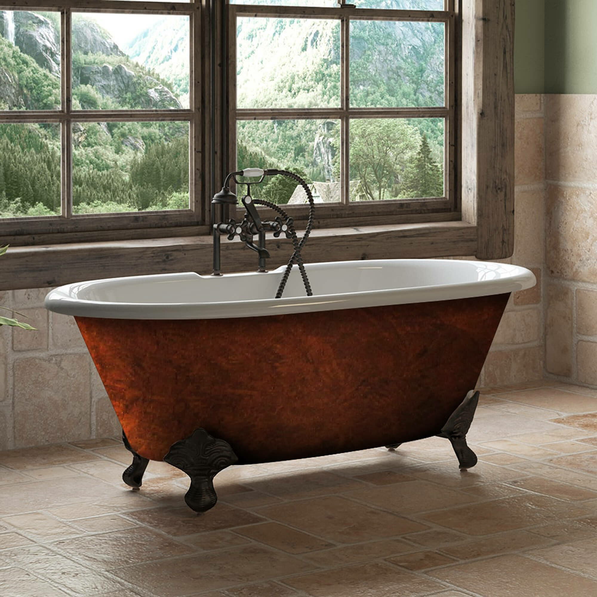 Cambridge Plumbing 60 X 30 Clawfoot Soaking Bathtub Wayfair