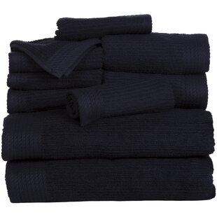 Black Bath Towels