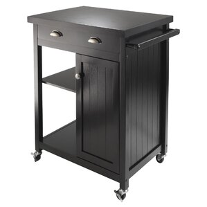 Mcgovern Kitchen Cart by Beachcrest Home