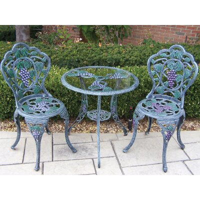 Vineyard Bistro Set by Oakland Living Fresh