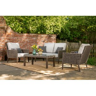 Keira 4 Piece Sofa Set with Cushions