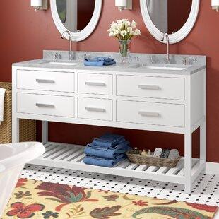 Berghoff 72 Double Bathroom Vanity Set by Andover Mills