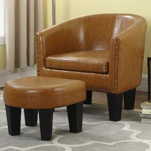 Top Reviews Mohamud Barrel Chair ByGracie Oaks