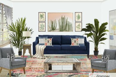 Bold Eclectic Living