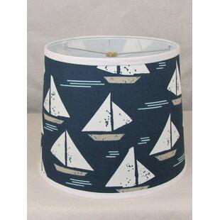 Sailboat Cotton Drum Lamp Shade