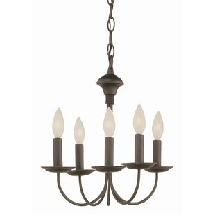 Laurel Foundry Modern Farmhouse Shaylee 5-Light Chandelier