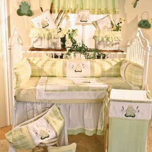 Read Reviews Ribbit 4 Piece Crib Bedding Set By Brandee Danielle