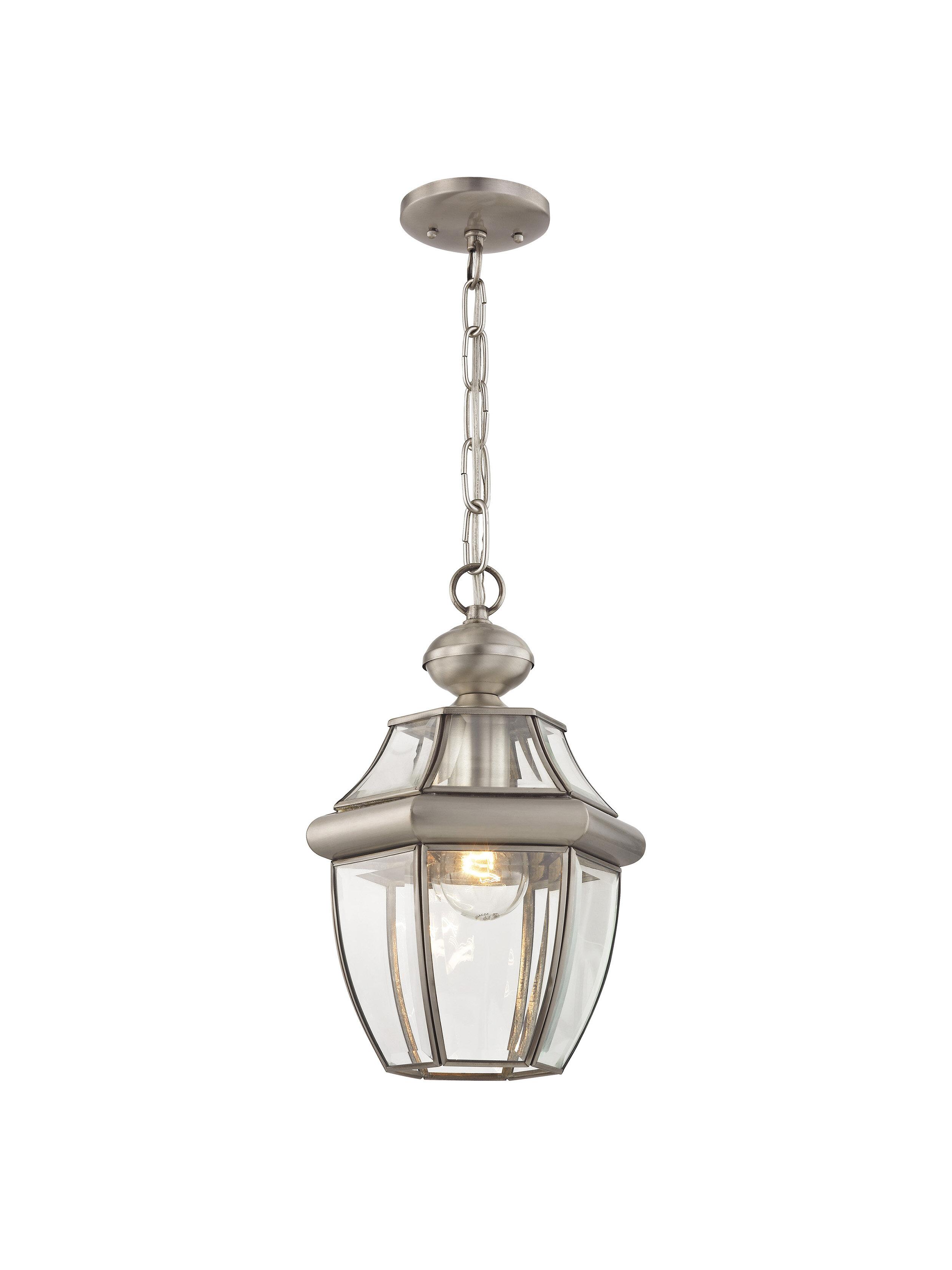 Bulb 12 75 H Outdoor Hanging Lantern