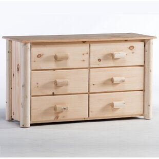 Millwood Pines Timothy 6 Drawer Double Dresser
