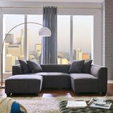 Small Sectional With Ottoman Wayfair