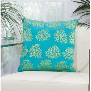 Verity Corals Outdoor Acrylic Throw Pillow
