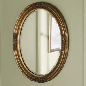 Wood Wall Mirror gold mirrors you'll love | wayfair