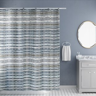 Bargain Douglas Forge Charisma Jaqcuard 100% Cotton Shower Curtain By Charlton Home