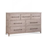 Tirado 7 Drawer Double Dresser by Gracie Oaks
