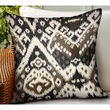 Maderia Ikat Luxury Indoor/Outdoor Lumbar Pillow