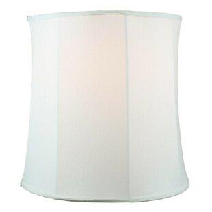 Extra large drum shade wayfair 16 linen drum lamp shade aloadofball Choice Image