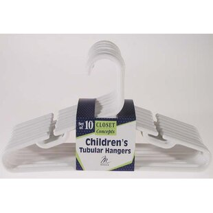 Comparison Children's Tubular Nursery Hanger (Set of 10) By Merrick