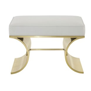 Jet Faux Leather Bench by Bernhardt